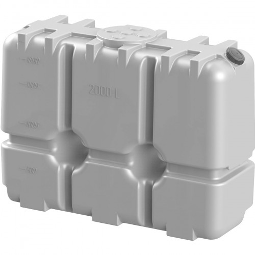 Бак RT 2000 литров White для дизельного топлива