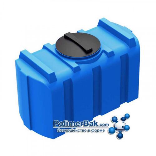 Горизонтальная емкость бак R 200 литров