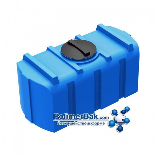 Горизонтальная емкость бак R 300 литров