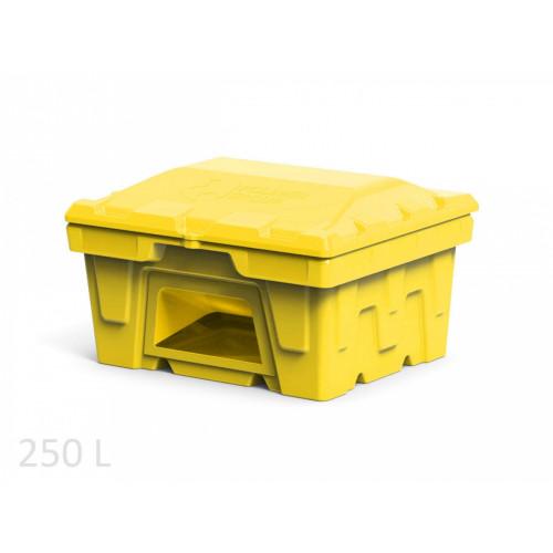 Ящик для соли и реагентов 250 л с дозатором
