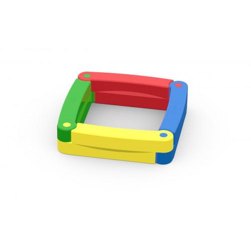 Песочница детская пластиковая 4 секции