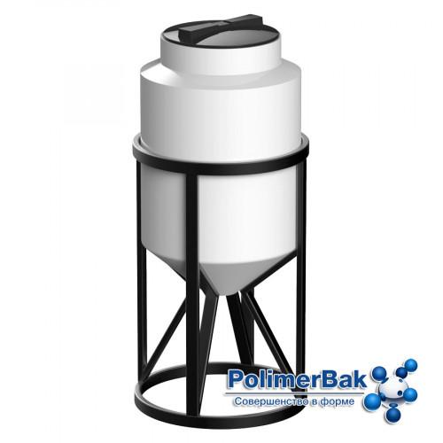 Конусная емкость К 100 литров с обрешеткой