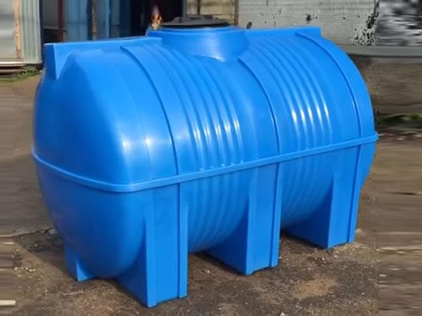 Емкости горизонтальные цилиндрические для воды