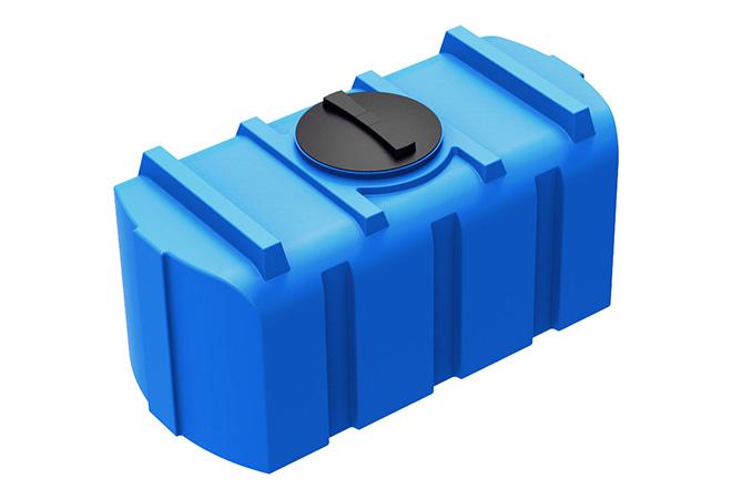 Практичная емкость для воды прямоугольной формы