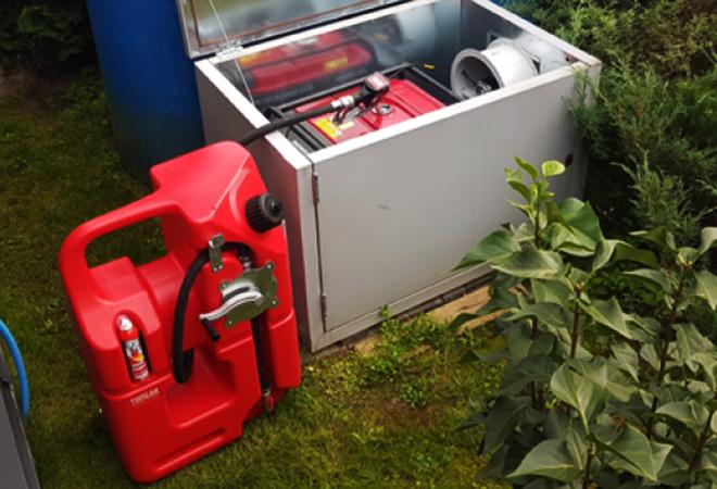 Удобная канистра на 100 литров для топлива