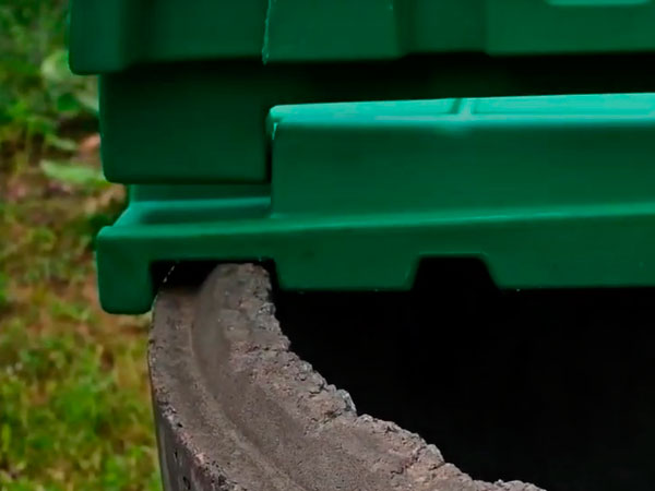 крышка для бетонных колодцев