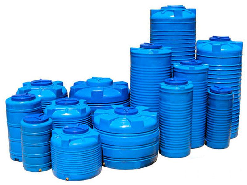 Пластиковые вертикальные емкости для воды и их цена