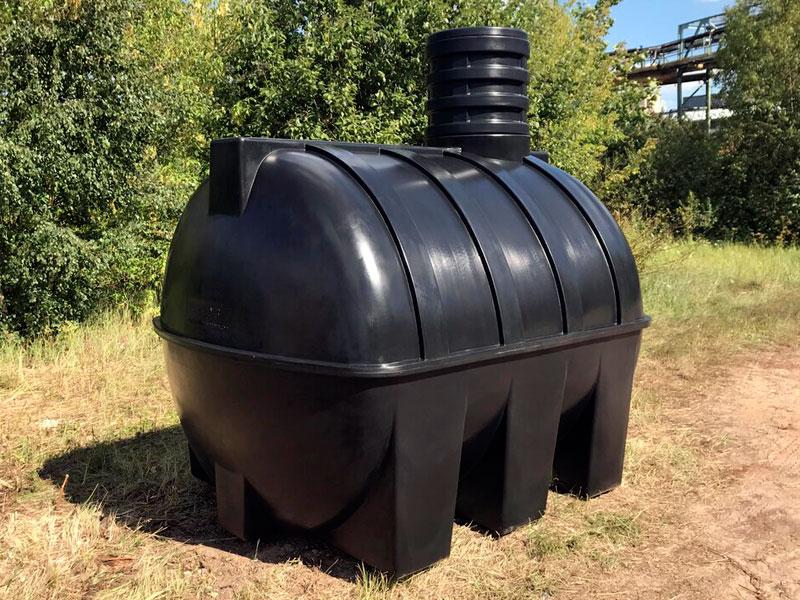 Емкость для канализации на даче подземная