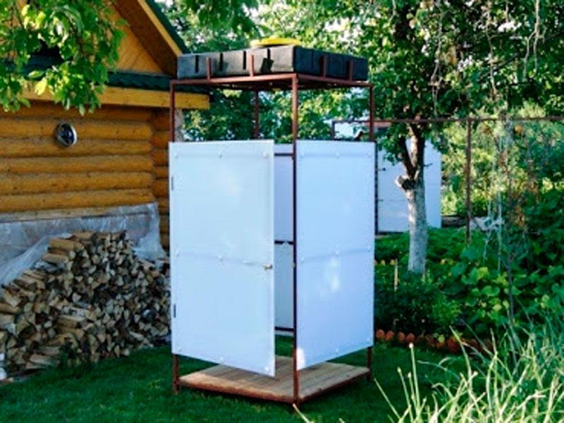 Летний душ на даче - варианты и цены