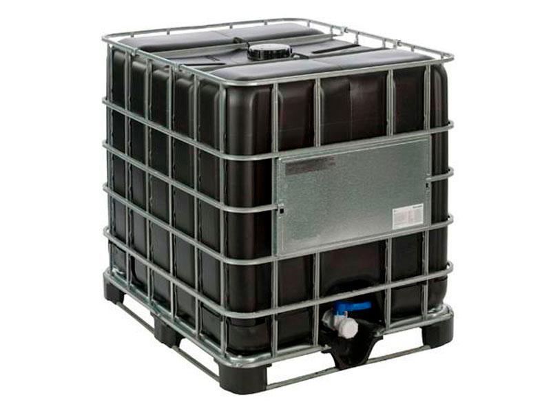 Пластиковая емкость на 1000 литров, которую называют еврокуб