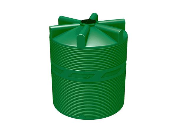 Пластиковый цилиндрический бак для воды