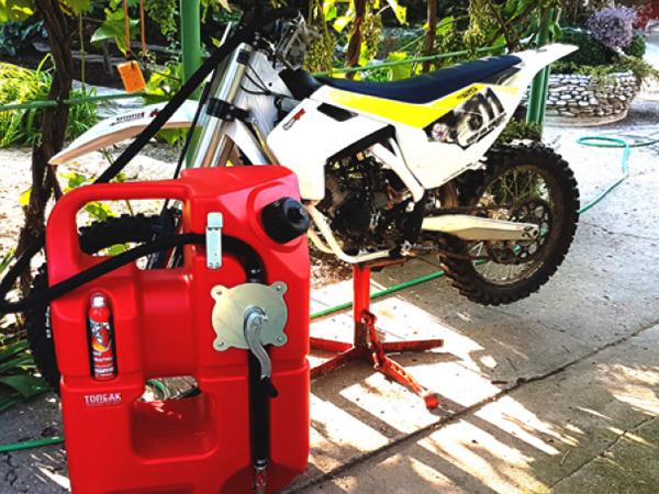 Удобная канистра на 100 литров для квадроцикл