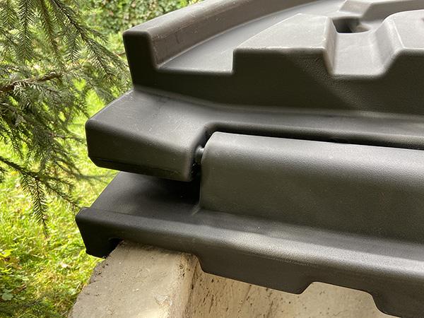 Обзор крышки из пластика для бетонного колодца