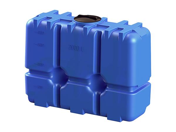 Плоские емкости из пластика для воды