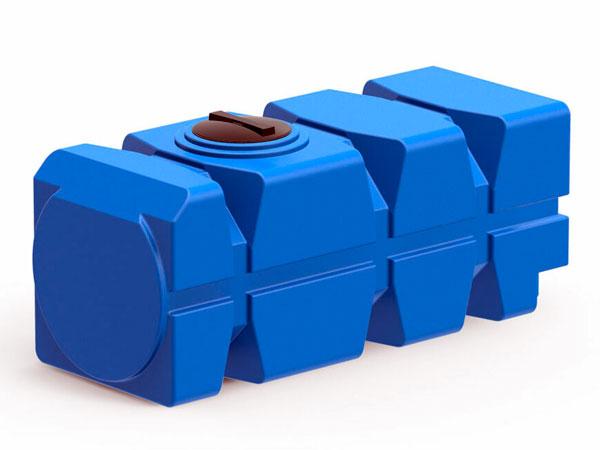 Горизонтальная емкость пластиковая