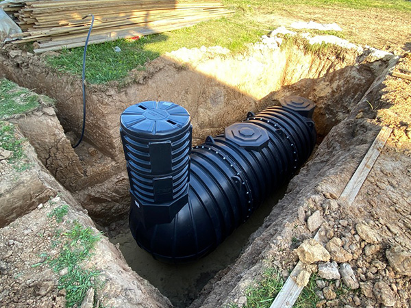 Пластиковые подземные емкости для ДТ