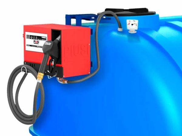 Современные мини АЗС для дизельного топлива