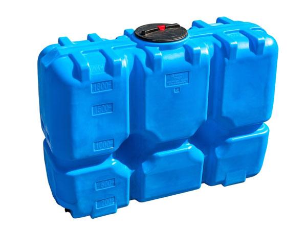 Удобные прямоугольные емкости из пластика для воды с крышкой