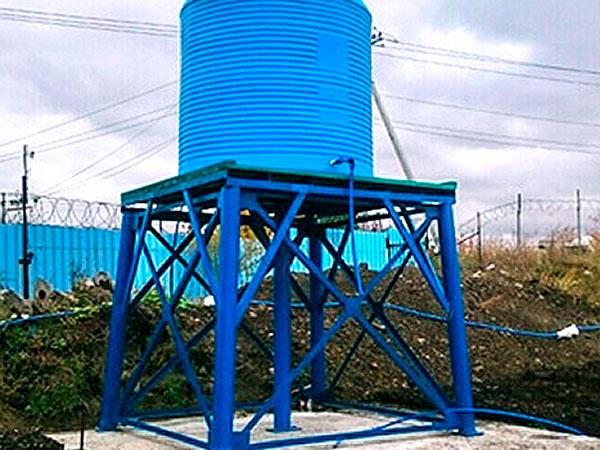 Водонапорная емкость на 10 000 литров воды для СНТ