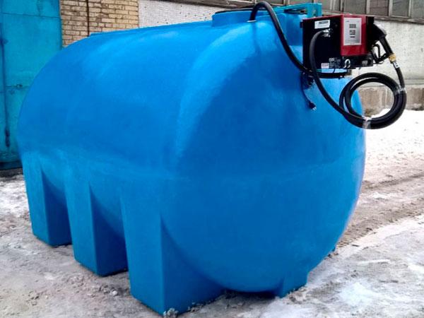 Мини заправки для дизельного топлива из пластиковой емкости