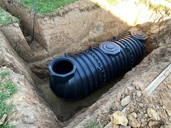 Подземные накопительные емкости из пластика