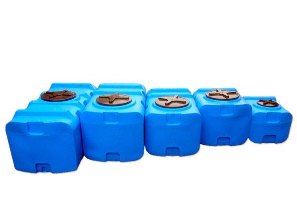 Баки для воды прямоугольной формы из пластика