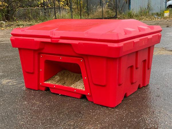 Ящики для песка пожарные из пластика