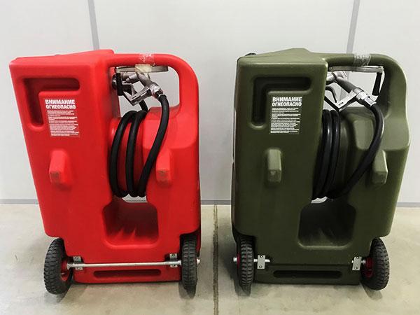 Канистра пластиковая для топлива на 100 л