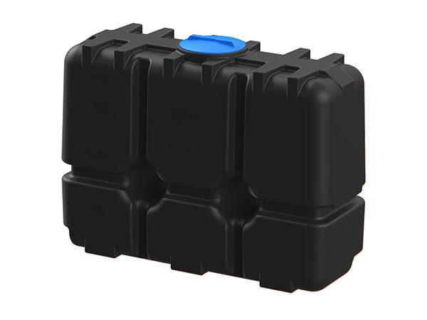 Цилиндрические емкости из пластика