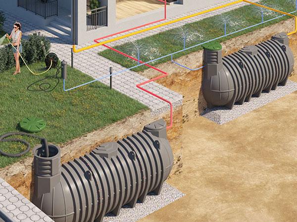 Секционные резервуары и емкости на 20000 - 30000 литров