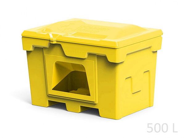 Пластиковые ящики для хранения соли и реагентов