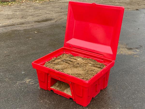 Пожарный ящик для песка