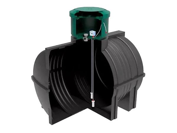 Емкости из пластика для дизтоплива подземные