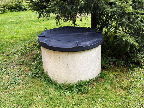 Виды крышек для бетонных колодцев