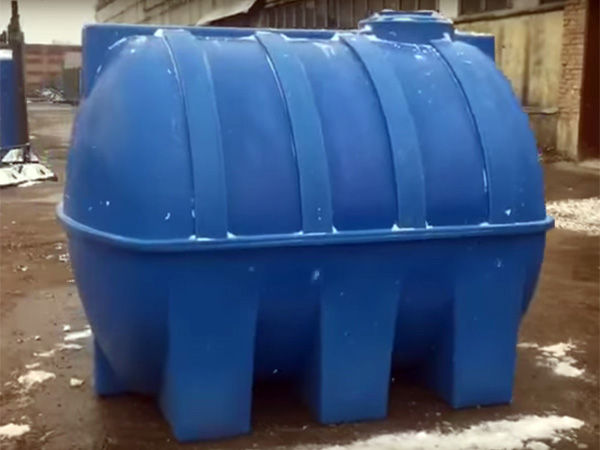 Насколько большими бывают пластиковые емкости для воды