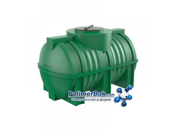 горизонтальные емкости для воды пластиковые