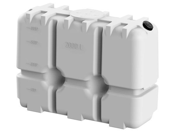 Прямоугольные емкости для воды из пластика