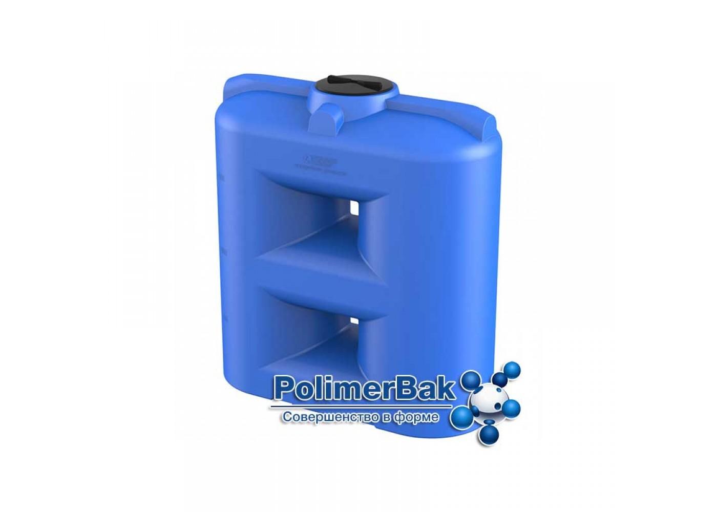 Пластиковый прямоугольный бак для воды