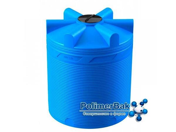 Пластиковые цилиндрические емкости для воды