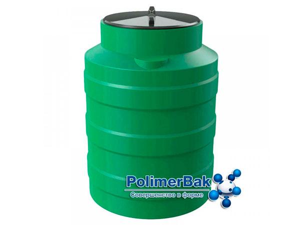 Цилиндрическая емкость из пластика