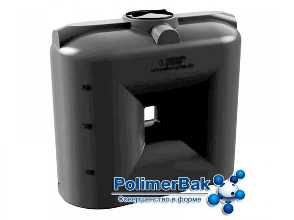 Цилиндрический пластиковый бак для питьевой воды